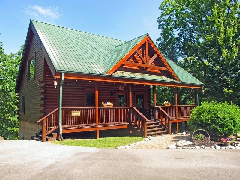 Grist Mill Getaway 3 Bedroom Cabin In Gatlinburg Tn