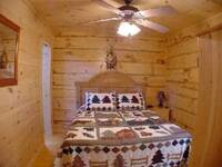 Second Bedroom Area Bear Claw by Heartland Cabin Rentals
